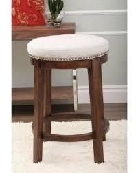 backless swivel counter stools. Abbyson Monica Pedersen Shawnee Round Swivel Leather Backless Counter Stool Stools