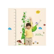 Large Garden Height Chart Wall Sticker