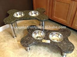 dog bowls with stand s wooden dog bowl stand uk