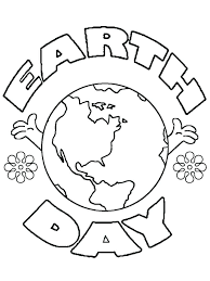 Earth Day Coloring Worksheets Earth Day Coloring Sheets Free Earth ...