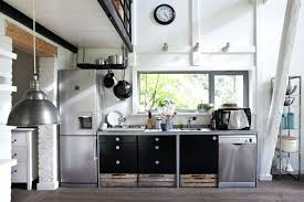 white kitchens with stainless appliances. Magnificent White Kitchen Black Appliances Kitchens With Stainless