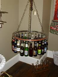 beer bottle light fixture