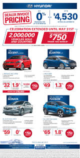 Agincourt Hyundai Dealer Invoice Pricing Event New Used Cars For