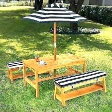 outdoor table umbrella hole cover furniture umbrellas brisbane best patio set with dining decorating