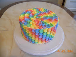 Decorating With Sprinkles A Collection Of Colorful Cakes Rainbow Cakes