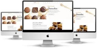 Website Mockup Template Impressive ET Bakery Free Responsive Bakery Website Templates