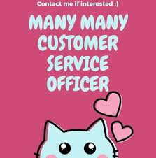 Many Customer Service Officer Needed Multiple Roles Good Working