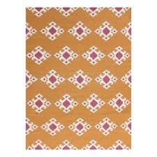 amer rugs zar200 zara southwestern orange flat weave area rug lowe s canada