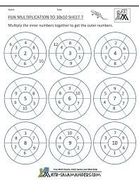 Collections of Fun Math Activity Worksheets, - Easy Worksheet Ideas