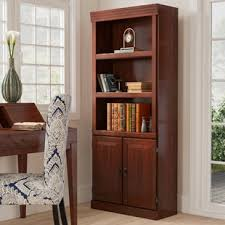 bookcase with doors. Clintonville Standard Bookcase With Doors N