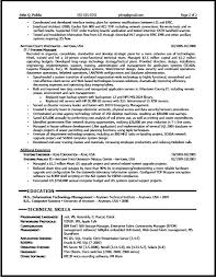 It Manager Resume Sample - The Resume Clinic
