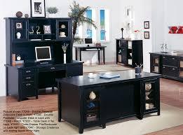 furniture desks home office credenza table. tribeca loft black office furniture double pedestal executive desk desks home credenza table