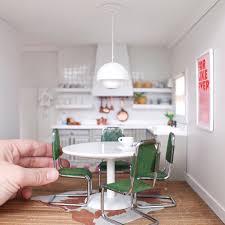 modern dolls house furniture. modern dollhouse miniature kitchen dolls house furniture