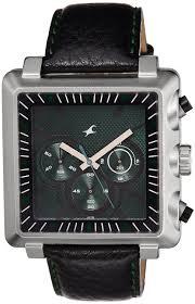buy fastrack chronograph green dial men s watch 3111sl02 online buy fastrack chronograph green dial men s watch 3111sl02 online at low prices in amazon in