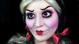creepy evil doll makeup tutorial