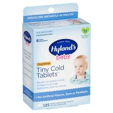 Hylands <b>Baby Tiny Cold</b> Tablets, 125 ct NOT MAPPED | Meijer ...