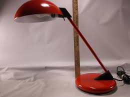 This Is A Cool Retro Mod Red Desk Lamp That Will Look Cool On Your