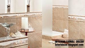 bathroom tile designs 2014. Brown Bathroom Ceramic Tiles Classic Wall Design, Tile Designs 2014