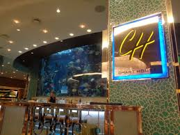 Chart House Las Vegas Reviews Sign And Fish Tank Picture Of Chart House Las Vegas