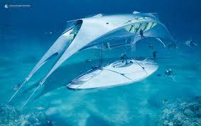 Underwater Habitat Design Underwater Habitat And Dock Jacques Rougerie Architecte