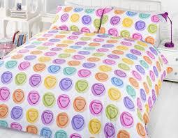 gorgeous design ideas sweets duvet cover love hearts bedding single double pillowcase hug me