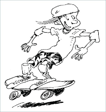 skateboard coloring page skateboard coloring pages for kids funny coloring boy skateboarding coloring pages skateboard coloring page