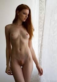 Nude redhead pubic hair photo