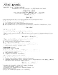 Best Human Services Resume Objective Examples Contemporary Best
