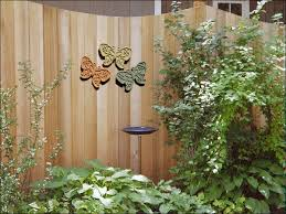 decorative wall art for gardens