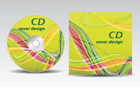 Cd Cover Presentation Vector Template Material 15 Free Download