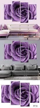 gallery of purple bathroom wall art with fl whispers canvas set inspirations images