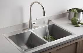 Sinks Clogged Drain Kitchen Sink How To Unclog A Sink Drain Kitchen Double Sink Clogged