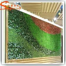 fake grass wall fake grass decor hotel lobby artificial plant wall green moss living vertical plastic