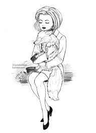 yuukimius my own fox just tbt the x filesdana