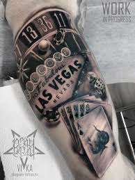 Las Vegas Tattoo чикано на бицепсе сделать тату у мастера вики