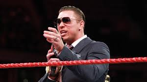 Image result for The miz talking in ring raw with kurt angle