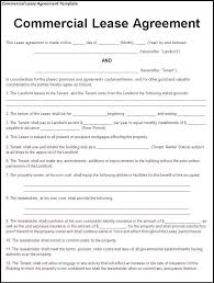 business lease agreement sample