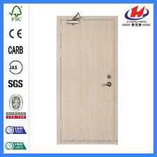 China Interior Flush Flat 1 Hour Fire Rated Residential Fire Doors ...