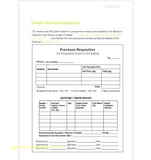 Purchase Requisition Template