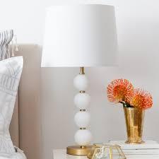 ball table lamp. stacked glass ball 26\ table lamp o