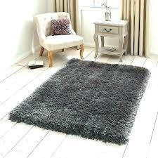 grey fluffy rug s next target gray