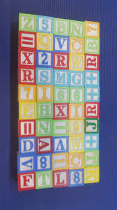 50 vintage wooden abc 123 alphabet children s toy blocks