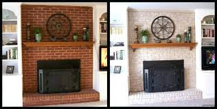 painting red brick fireplace fireplace brick painting cool painting a red brick fireplace le painting fireplace