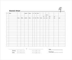 Free Baseball Stats Spreadsheet Awesome Sample Football Score Sheet