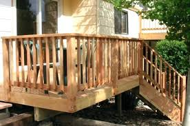 exterior wood railing stair railing code exterior wood handrail deck stair railings building code stairs exterior