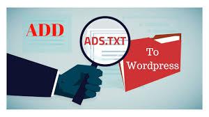 how to add ads txt to wordpress