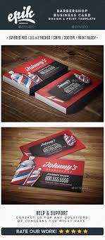 barbershop business cards barbershop business card template kartu nama bisnis dan kartu