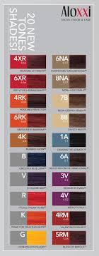 Aloxxi 20 New Tones Shades New Tone Hair Color Hair Makeup