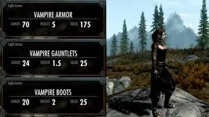 Dawnguard Light Armor Female Youtube