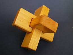 wooden knot puzzle